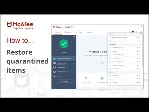 How To Recover Files Deleted By Mcafee Antivirus