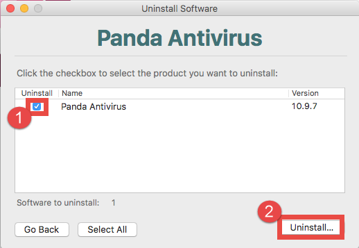 How To Uninstall Panda Products