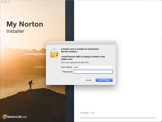 Norton Installation Failed Mac